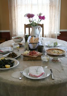 Spring Entertaining and Recipes - The Kitchenthusiast