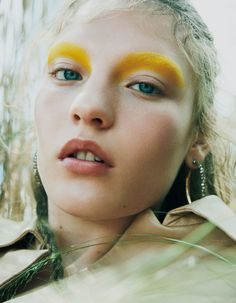 A New Season of Color  With Agnes Akerlund for Vogue Japan October 2017  Issue. 0b0cc332be