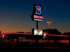 """Find Braum's price list in the USA which offers """"Hamburgers, Salads, Ice Cream Cones, etc. Braums Ice Cream, Fast Food Restaurant, Family Vacations, Texas, Country, Store, Texas Travel, Family Friendly Holidays, Rural Area"""