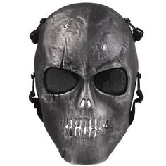 Efficient Hot Camouflage Hunting Accessories Masks Ghost Tactical Outdoor Military Cs Wargame Paintball Airsoft Skull Full Face Mask 43bp Back To Search Resultshome
