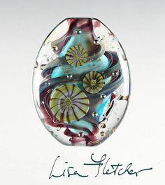 Swirled Glass Bead