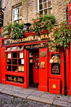 The Temple Bar & Pub in Dublin, Ireland by Lu Marins Voyage Dublin, Dublin Pubs, London Pubs, Dublin Nightlife, Dublin Food, Ireland Pubs, Dublin Bay, Ireland Food, Galway Ireland