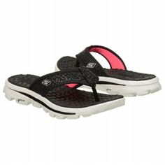 952ce2d0b39d Skechers Women s Go Walk Move-Beach Bum at Famous Footwear Flip Flop Sandals