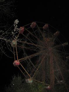 Ferris wheel at the Lake Shawnee amusement park, Lake Shawnee, Virginia.