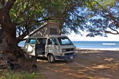 Camping in a VW on Maui ..... awesome!!!This will be me in 3 weeks!!