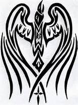 Raven Tattoo Revised by ~Windego on deviantART Celtic Raven, Celtic Art, Norse Tattoo, Viking Tattoos, Bild Tattoos, Body Art Tattoos, Cherokee Tattoos, Raven Color, Vikings