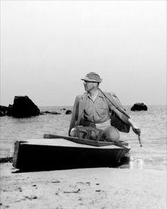 Jacques Tati in Les Vacances de Monsieur Hulot, 1953