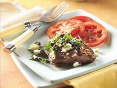 GRILLED GREEK-STYLE STEAK (Cooking for Two) *Grill http://www.bettycrocker.com/recipes/grilled-greek-style-steak-cooking-for-2/5df60a13-ed53-4f52-a673-e1d43e9a806a