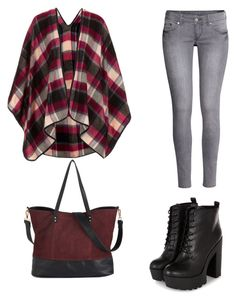 """""""Untitled #60"""" by tvj19 ❤ liked on Polyvore featuring H&M and Topshop"""