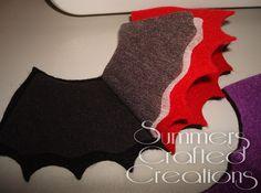 Bat Felt Sewing Needle Holder.
