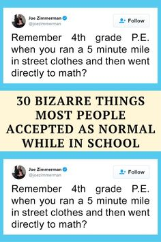 Bored Panda has collected some of the best examples of weird school things, so scroll down to see exactly what we mean