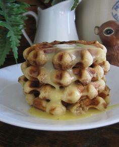 Lady Behind The Curtain - Orange Sweet Roll Mini Waffles with orange syrup Breakfast Waffles, Breakfast For Dinner, Breakfast Dishes, Breakfast Recipes, Pancakes, Breakfast Options, Orange Sweet Rolls, Waffle Maker Recipes, Delicious Desserts