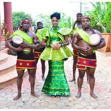 Image result for nigerian ankara bridesmaid dresses