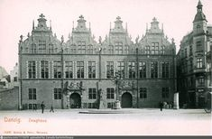 Danzig, Poland Zeughaus1903 old Danzig, Poland, Louvre, Building, Travel, Viajes, Buildings, Destinations