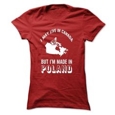 made in poland - #gift bags #inexpensive gift. BUY-TODAY => https://www.sunfrog.com/States/made-in-poland-Red-eby4-Ladies.html?68278