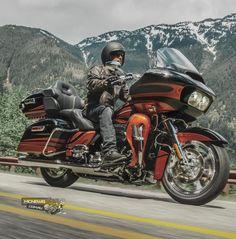 CVO Road Glide Ultra Harley-Davidson 2015 http://www.mcnews.com.au/harley-davidson-2015-model-unveil/
