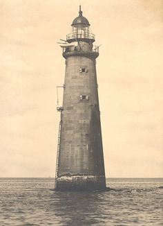 Minot's Ledge Lighthouse.