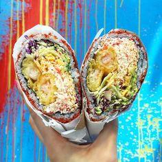 My spirit food: burrito slash sushi rollthe SUSHIRRITO by breadbunnie