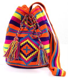 Neon Diamonds - Mochila Bag