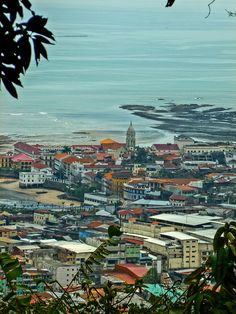 View of of Casco Viejo from Cerro Ancon. http://internationalliving.com/countries/panama/