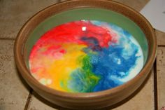 Catching a Rainbow Science Experiment