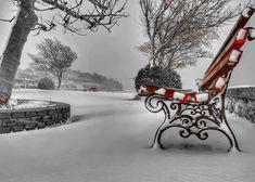 Μαγευτικές φωτογραφίες από το κατάλευκο Φανάρι Ροδόπης Outdoor Furniture, Outdoor Decor, Bench, Park, Home Decor, Decoration Home, Room Decor, Parks, Home Interior Design