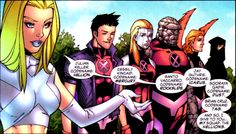 (New X-Men: Academy X #1)