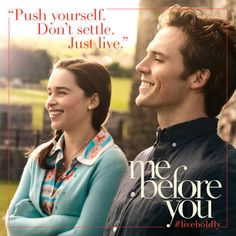 Emilia Clarke As Lou And Sam Claflin As Will In Me Before You