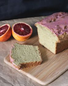 Fake Food Free: Avocado Pound Cake with Blood Orange Glaze Recipe