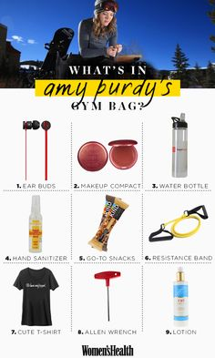 Find out where YOU can score all of Amy's gym must-haves!