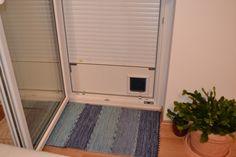 Katzenklappe der anderen Art, ohne die Türe zu beschädigen