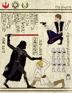 Star Wars themed Narmer palette