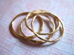 Shop Sale.. Gold Stacking Rings Stack Rings by FabulousRocks, $20.50
