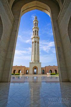Sultan Qaboos Grand Mosque . Muscat Oman