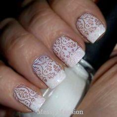 Patterned Nail Image Plates