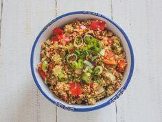 Sehe dir das Foto von BloggerGirl mit dem Titel Sommerlicher Couscous-Salat als perfekte Beilage zum Grillen  und andere inspirierende Bilder auf Spaaz.de an.