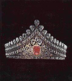 Romanov nuptial diadem.