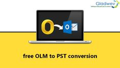 If you wish to safely transfer OLM to PST then there is no tool better than Gladwev Software's OLM to PST Converter Ultimate! This OLM to PST tool comes with a light interface and a simplistic process. Software, Simple, Free