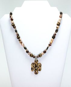 Cappuchino Cross Necklace by WireHaven on Etsy, $85.00