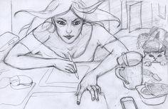 my work... My Works, Female, Art, Art Background, Kunst, Gcse Art