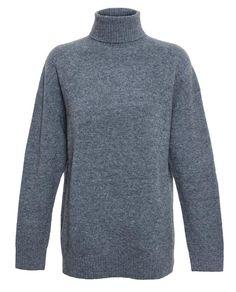 BALENCIAGA | Wool Blend Roll-Neck Jumper
