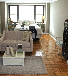 Studio Apartment Living Room Ideas 10 efficiency apartments that stand out for all the good reasons