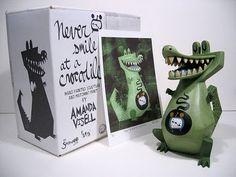 Amanda Visell's Never Smile At A Crocodile $1000