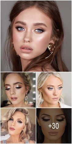 30 Spellbinding Bridesmaid Makeup For Every Woman ♥ Bridesmaids help to bride to shine bright on her wedding day. It is important to choose the right style and suitable bridesmaid makeup. #wedding #makeup #weddingforward #bride #weddingbeauty #BridesmaidMakeup