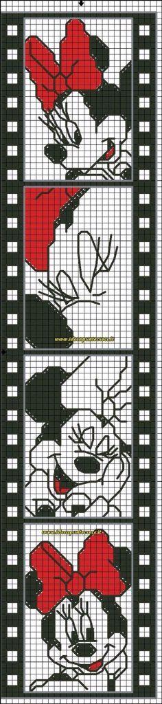 Minnie Mouse cross stitch