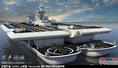 China should develop larger aircraft carriers armed with new-concept weapons, Chinese naval expert Li Jie said while communicating about the country's first successful fighter jet landing on its aircraft carrier.