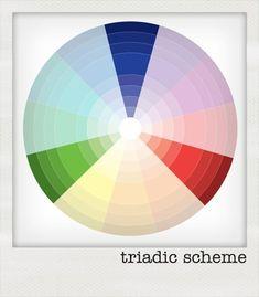 Colour theory: triadic