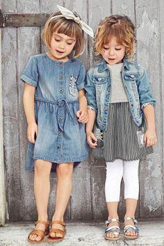 Buy Denim Zebra Shirt Dress (3mths-6yrs) online today at Next: United States of America
