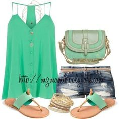 Summer Outfit by Celeste Jacobs R8Azs