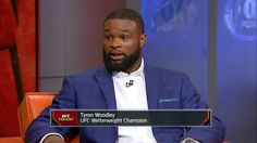 awesome Tyron Woodley discusses why does not regard Stephen 'Wonderboy' Thompson - 'UFC Tonight'